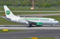 D-ABLA @ EDDL - Germania B737 taking off, formally operated by Air Berlin. - by FerryPNL