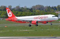 D-ABDQ @ EDDL - Air Berlin A320 landing - by FerryPNL