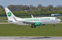 D-AGES @ EDDL - Germania B737 landing. - by FerryPNL