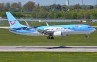 D-ATUR @ EDDL - TUI B738 landing - by FerryPNL