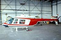 D-HARD @ EDLN - Bell 206B Jet Ranger II [486] Dusseldorf-Monchengladbach~D 12/05/1978 - by Ray Barber