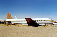 N90MA @ KL07 - Douglas DC-6 [43128] (Macavia) Chandler-Memorial Airfield~N 17/10/1998