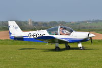 G-ECAG @ X3CX - Just landed at Northrepps. - by Graham Reeve
