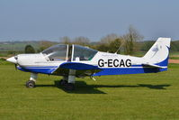 G-ECAG @ X3CX - Parked at Northrepps. - by Graham Reeve