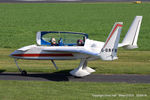 G-BRFB @ EGCV - at Sleap - by Chris Hall
