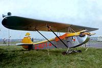 G-BCFY @ EGKB - Luton LA-4A Minor [PFA 824] Biggin Hill~G 21/05/1978. From a slide. - by Ray Barber