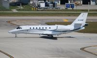 N38WE @ FLL - Citation 680 Sovereign +