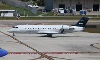 N42WA @ FLL - CRJ-100LR