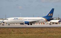 N43XA @ MIA - Xtra Airways