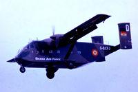 G-BCFJ @ EGLF - Short SC-7-3M-400 Skyvan [SH1931] (Short Brothers PLC) Farnborough~G 08/09/1974. From a slide.