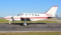 N62HJ @ LAL - Cessna 421C