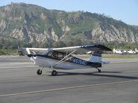 N519AC @ SZP - 2000 American Champion 7GCBC EXPLORER, Lycoming O-320 150 Hp, taxi to Rwy 22 - by Doug Robertson