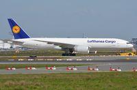 D-ALFB @ EDDF - LH Cargo B772F under tow - by FerryPNL