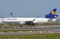 D-ALCB @ EDDF - LH Cargo MD11F - by FerryPNL
