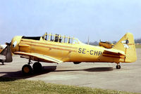 SE-CHP @ EG18 - SE-CHP   North American AT-6A Texan [77-4454] Bassingbourn~G 28/05/1978. From a slide