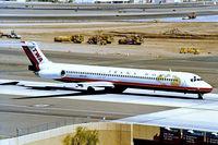 N9414W @ KPHX - McDonnell Douglas DC-9-83 [53189] (Trans World Airlines) Phoenix-Sky Harbor Int'l~N 18/10/1998