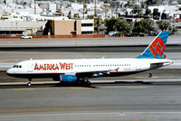 N649AW @ KPHX - Airbus A320-232 [0803] (America West Airlines) Phoenix-Sky Harbor Int'l~N 18/10/1998