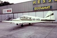 OO-AOL @ EBAW - Piper PA-23-160 Apache [23-1640] (Sotramat S.A.) Antwerp~OO 14/06/1980.  From a slide.