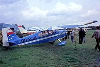 OO-RJM @ EBZW - Bellanca 7KCAB Citabria [468-74] Genk-Zwartberg~OO 20/05/1982. From a slide.