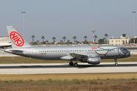 OE-LEF @ LMML - A320 OE-LEF NikiFly - by Raymond Zammit