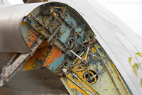 C-FBQT @ CYXJ - Detail. Craft considerably degraded since last photographed. North of control tower. - by Remi Farvacque