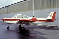 D-ELHR @ EDLN - Fuji FA-200-160 Aero Subaru [78] Dusseldorf-Monchengladbach~D 12/05/1978. From a slide. - by Ray Barber