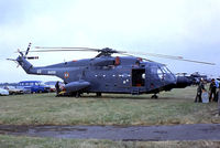 160 @ EGVI - Aerospatiale SA.321G Super Frelon [160] (French Navy) RAF Greenham Common~G 23/07/1983. From a slide. - by Ray Barber