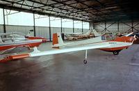 D-KIPA @ EDLN - Scheibe SF-25C Falke 1700 [44111] Dusseldorf-Monchengladbach~D 24/04/1980. From a slide. - by Ray Barber