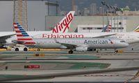 N101NN @ LAX - American A321