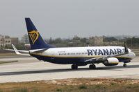 EI-DPM @ LMML - B737-800 EI-DPM Ryanair - by Raymond Zammit