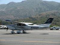 N14221 @ SZP - 2008 Cessna T182T TURBO SKYLANE TC, Lycoming TIO-540-AK1A 235 Hp, taxi - by Doug Robertson