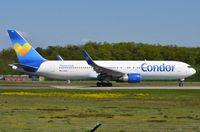 D-ABUH @ EDDF - Condor B763 departing FRA. - by FerryPNL