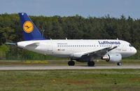 D-AIBF @ EDDF - Lufthansa A319 departing FRA - by FerryPNL