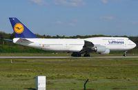 D-ABYM @ EDDF - Lufthansa B748 departing FRA. - by FerryPNL