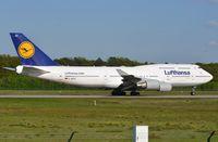 D-ABVZ @ EDDF - Lufthansa B744 departing. - by FerryPNL