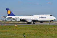 D-ABVU @ EDDF - Lufthansa B744 - by FerryPNL