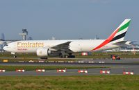 A6-EFK @ EDDF - Emirates B772F taxiing for departure. - by FerryPNL