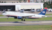 N124US @ TPA - USAirways - by Florida Metal