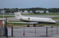 N127GK @ DAB - Gulfstream III