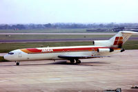EC-CFH @ EGLL - Boeing 727-256 [20818] (Iberia) Heathrow~G 23/05/1978. From a slide.