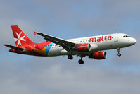 9H-AEQ @ EGLL - arriving from Malta - by Jens Achauer