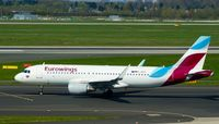 D-AIZT @ EDDL - Eurowings, is here taxiing at Düsseldorf Int'l(EDDL) - by A. Gendorf