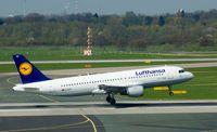 D-AIPE @ EDDL - Lufthansa, is here touching down RWY 05R at Düsseldorf Int'l(EDDL) - by A. Gendorf