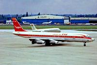 EC-CDC @ EDDL - Douglas DC-8-32/33 [45567] (TAE) Dusseldorf~D 12/05/1978. From a slide.