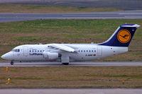 D-AVRP @ EGBB - BAe 146-RJ85 [E2303] (Lufthansa Regional/ Cityline) Birmingham Int'l~G 22/02/2008 - by Ray Barber