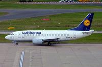 D-ABIK @ EGBB - Boeing 737-530 [24823] (Lufthansa) Birmingham Int'l~G 26/09/2007 - by Ray Barber