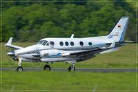D-IUDE @ EDDR - Beech C90B King Air - by Jerzy Maciaszek