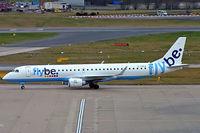 G-FBEG @ EGBB - Embraer Emb-195-200LR [19000120] (Flybe) Birmingham Int'l~G 22/02/2008 - by Ray Barber