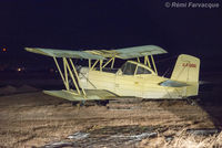 C-FUOG @ CYXD - Night-time shot late winter - by Remi Farvacque