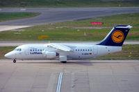 D-AVRR @ EGBB - BAe 146-RJ85 [E2317] (Lufthansa Regional) Birmingham Int'l~G 19/06/2007 - by Ray Barber